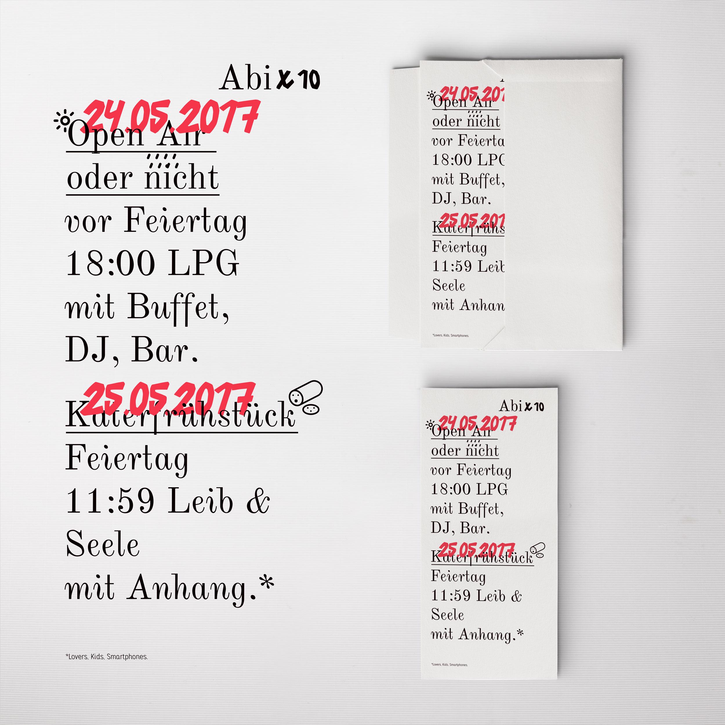Abix10 Flyer designed by Tobias Heumann