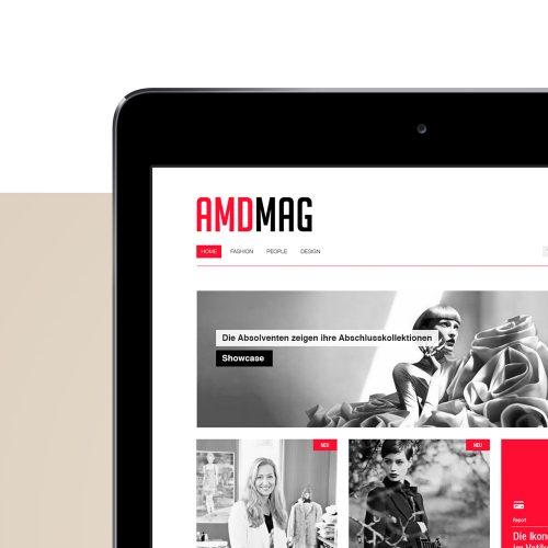 AMDMag Website designed by Tobias Heumann – Visual Designer