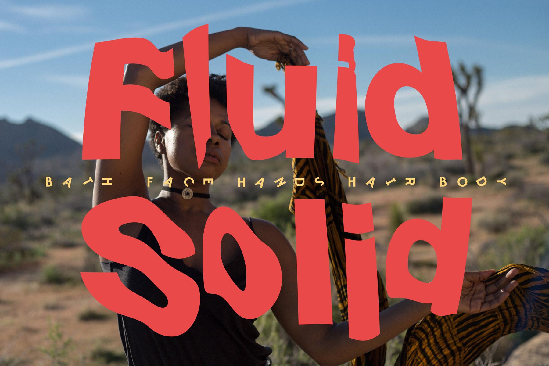 Fluid Solid Identity CI designed by Tobias Heumann