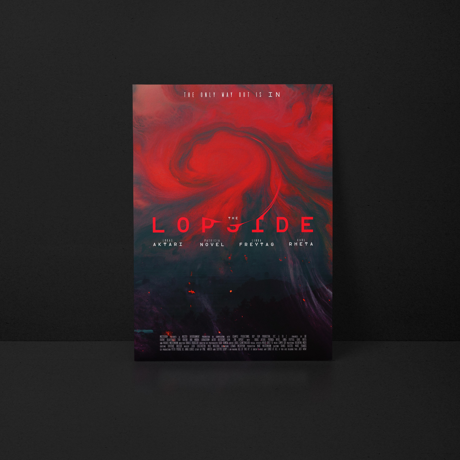 LOPSIDE Movie Poster designed by Tobias Heumann