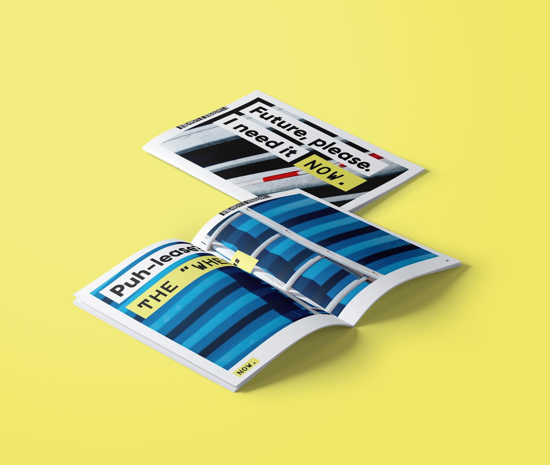 NOW Magazine designed by Tobias Heumann