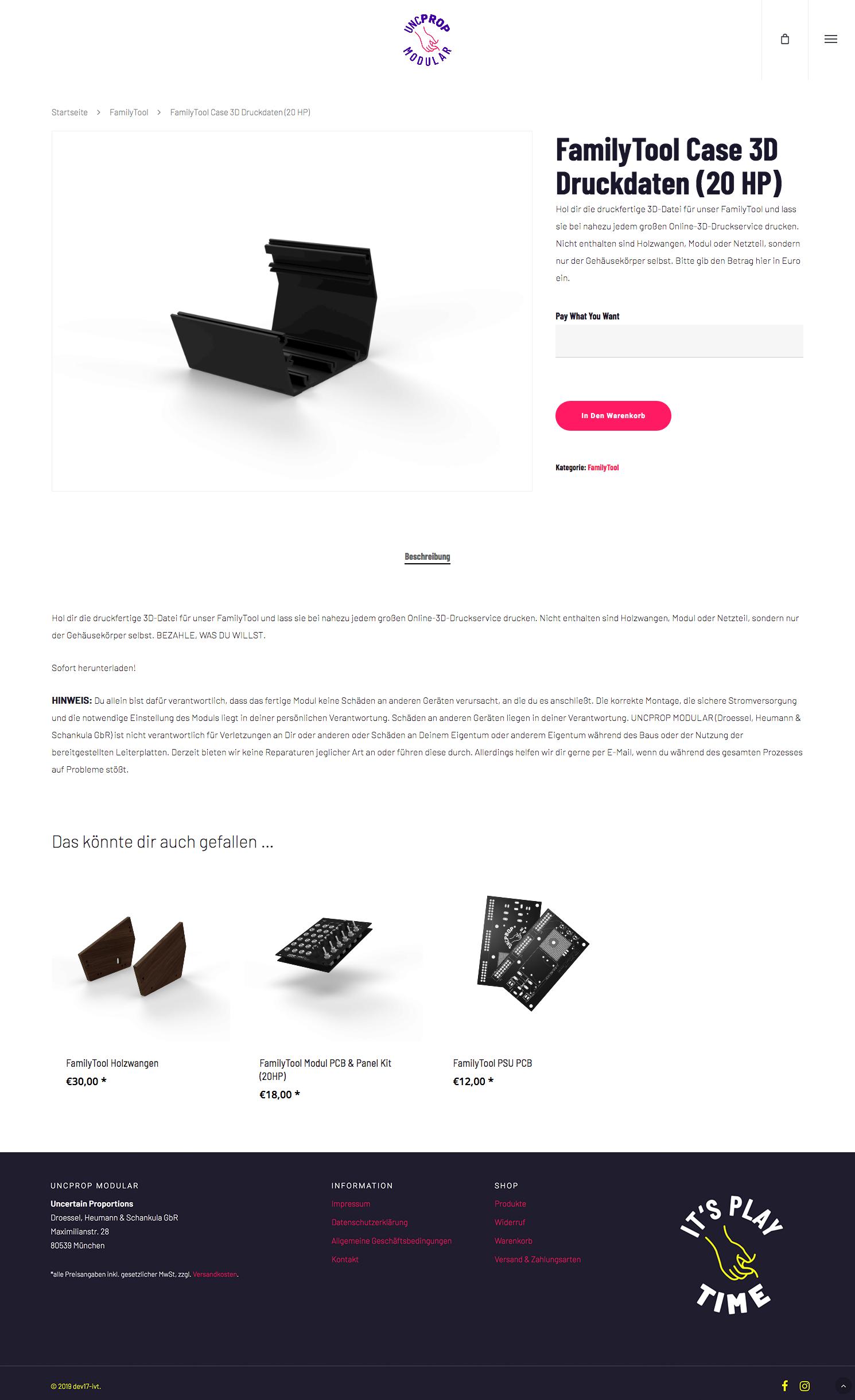 Uncertain Proportions Website designed by Tobias Heumann