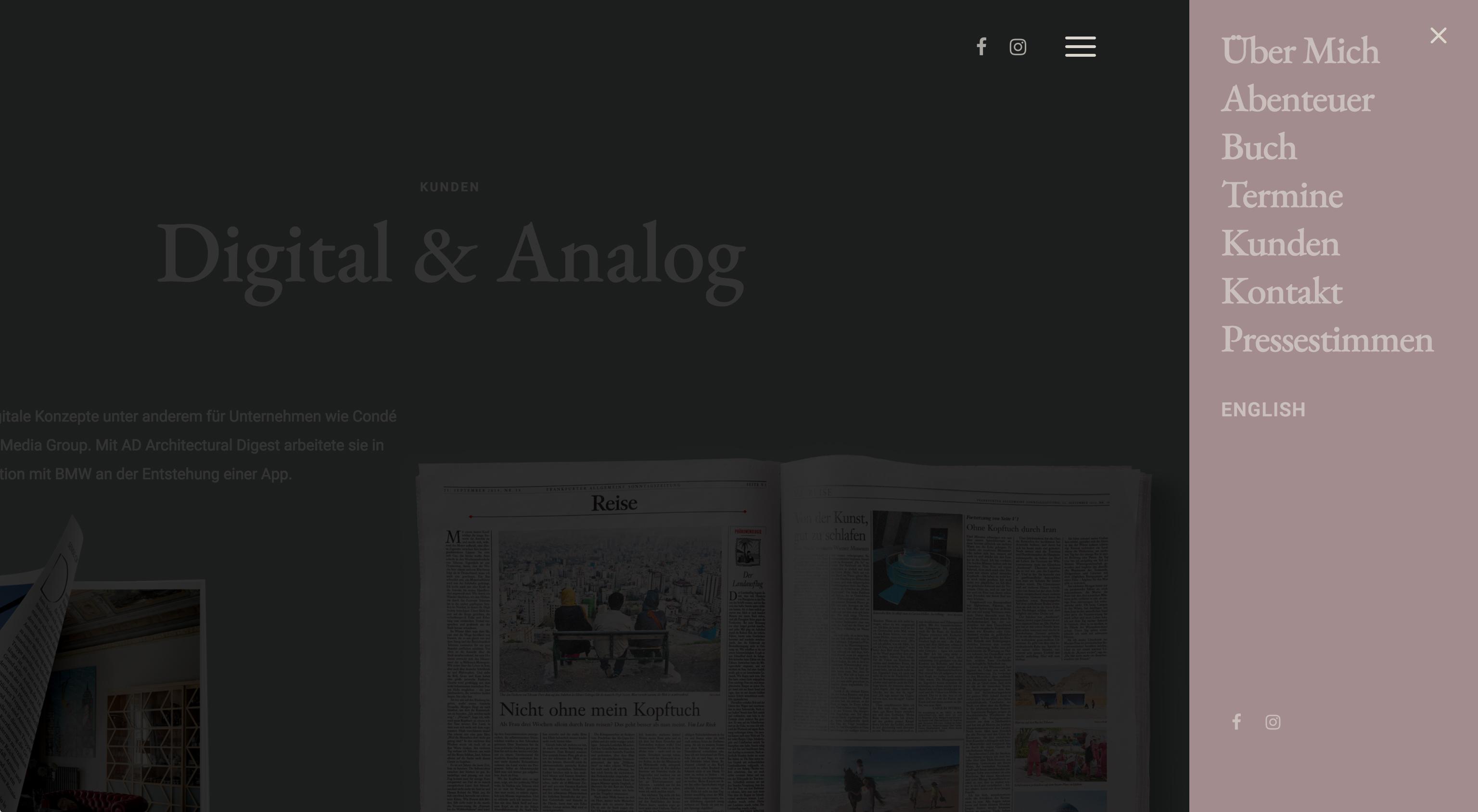 Lea Rieck Website designed by Tobias Heumann