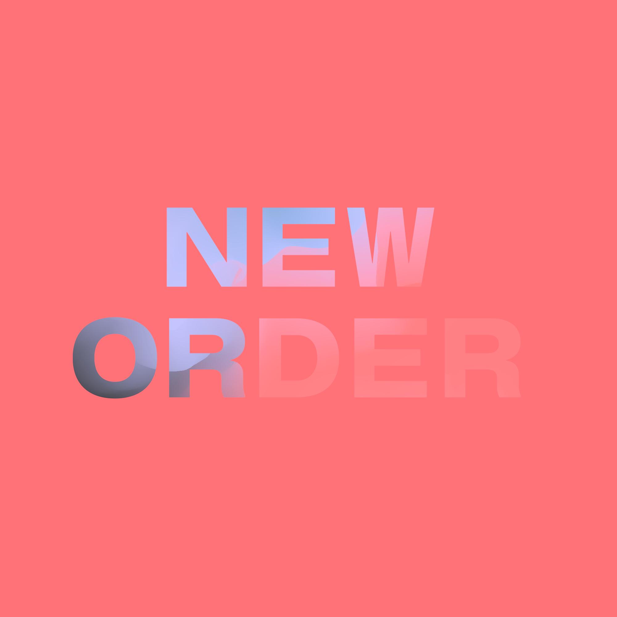 New Order Visual Identity designed by Tobias Heumann