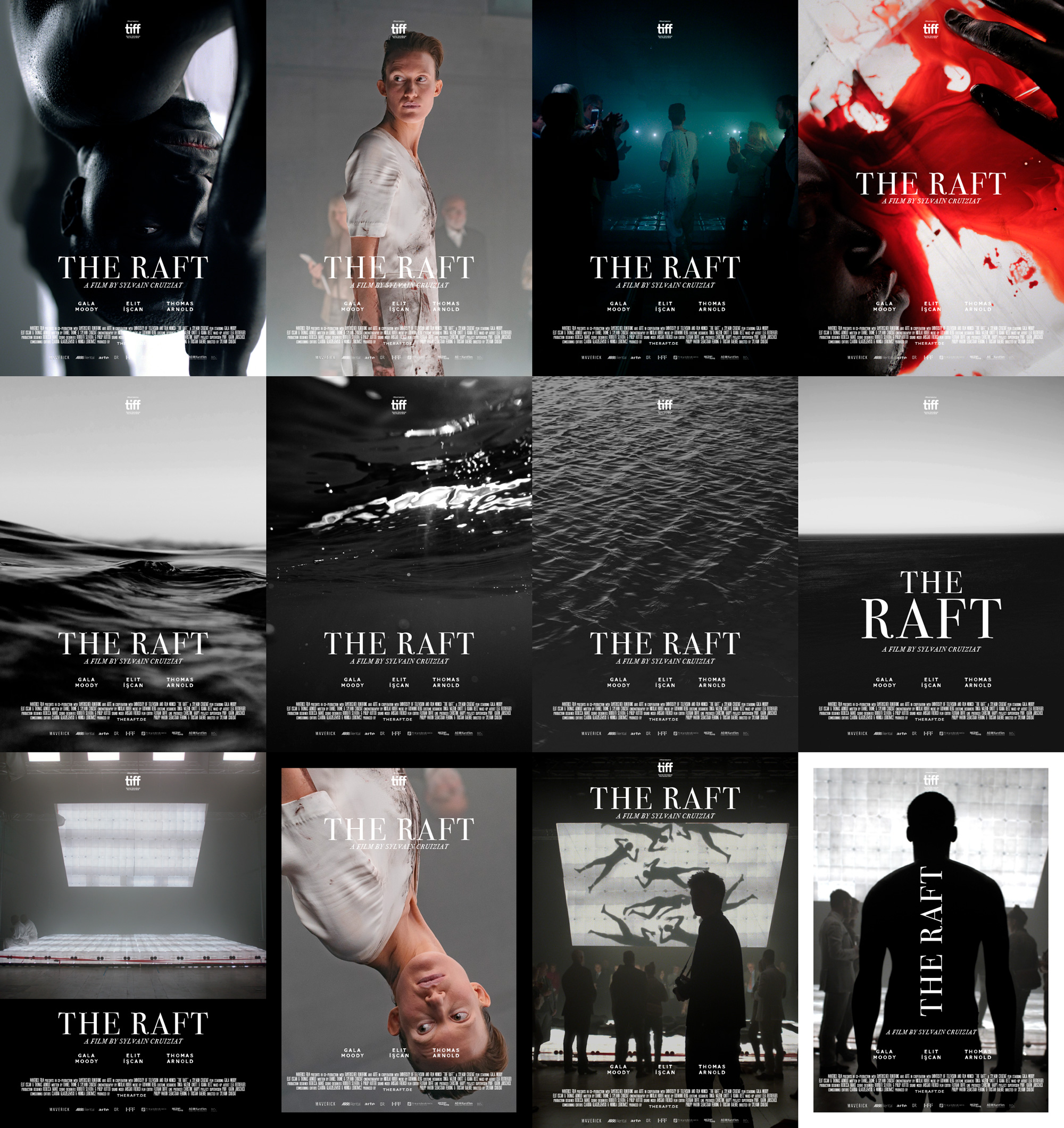 The Raft movie poster designed by Tobias Heumann