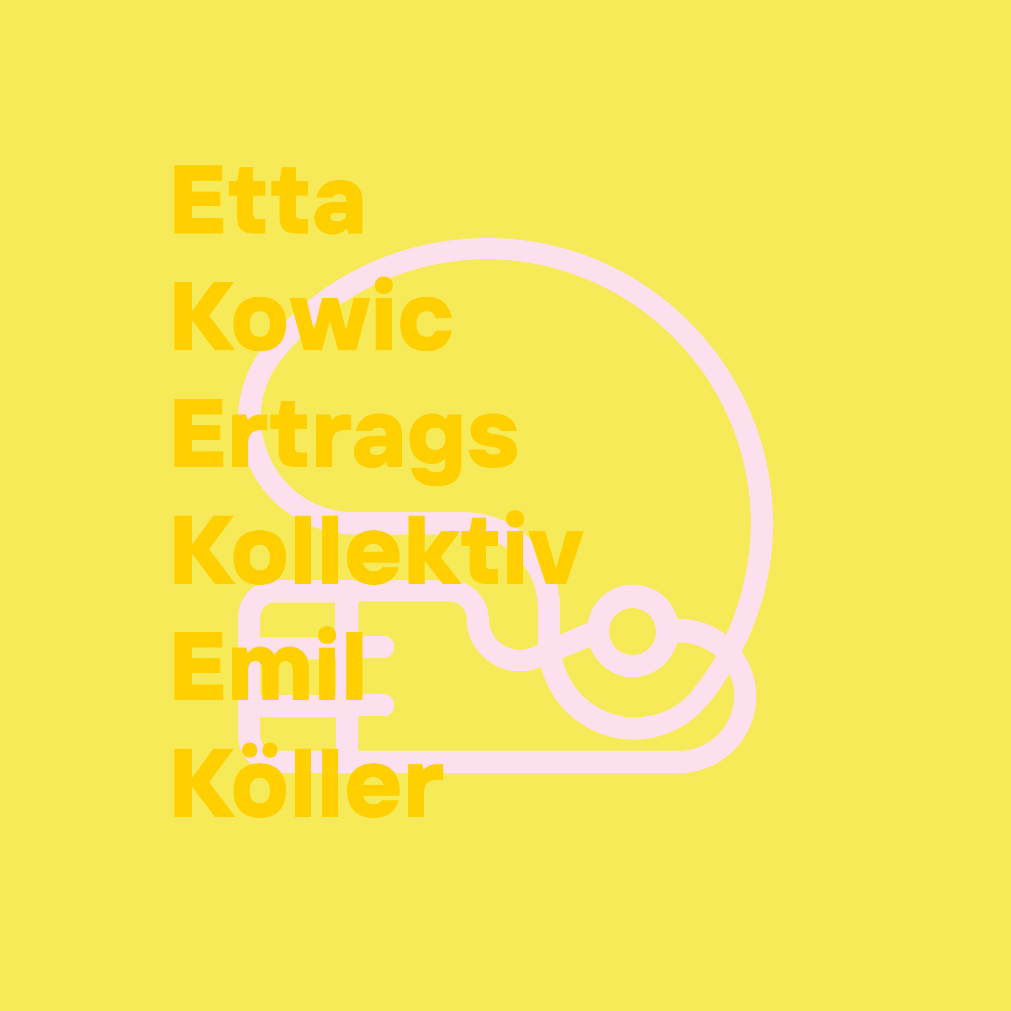EKEKEK Visual Identity designed by Tobias Heumann