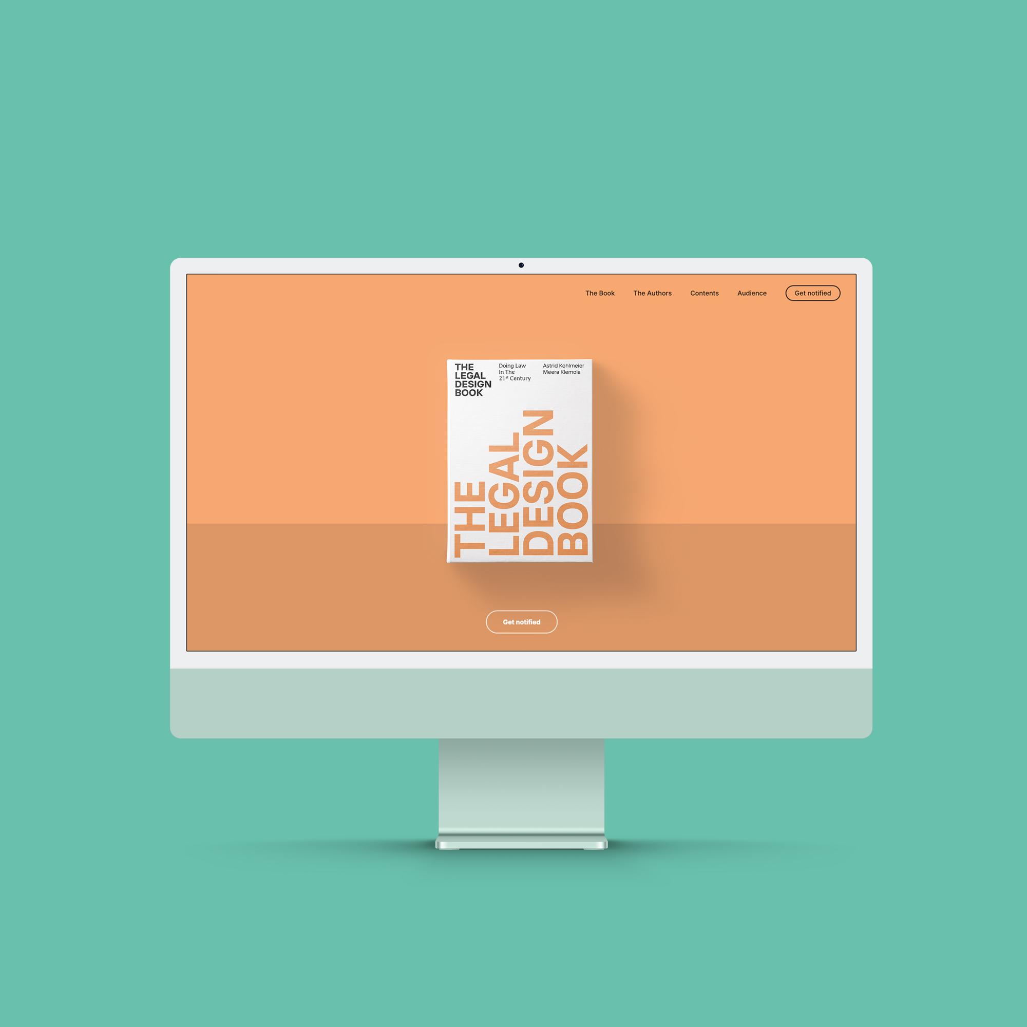 The Legal Design Book website image