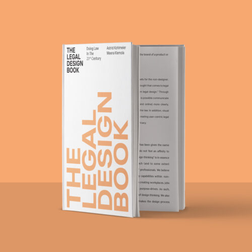 The Legal Design Book cover image